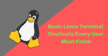Basic Linux Terminal Shortcuts Every User Must Know