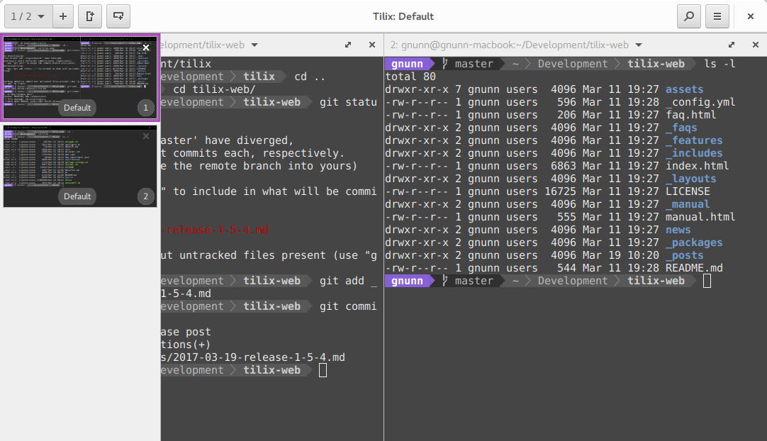Install Tilix On Linux Distros : Linux Terminal Emulator