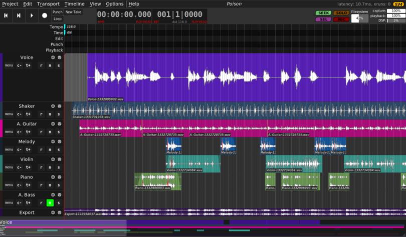 Best Digital Audio Workstation Apps For Linux
