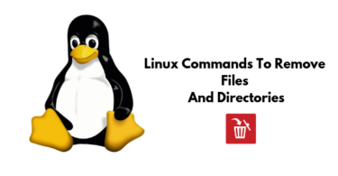 Linux Commands To Remove Files And Directories