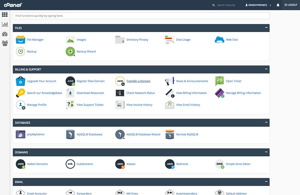 GUI tool for server admin