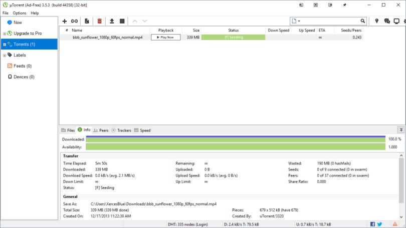 Install uTorrent In Ubuntu 18.04/Ubuntu 19.04