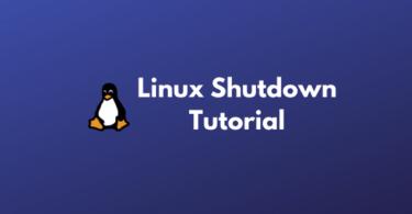 Linux Shutdown Command Tutorials | Linux Basics