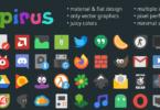 Papirus Icon Theme In Ubuntu 20.04 LTS