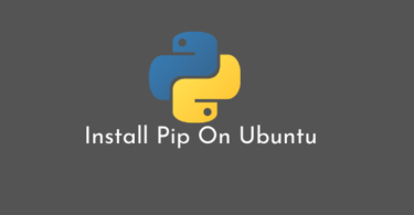 How To Install Pip On Ubuntu 20.04 LTS