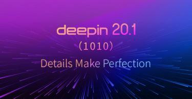 Deepin Linux 20.1